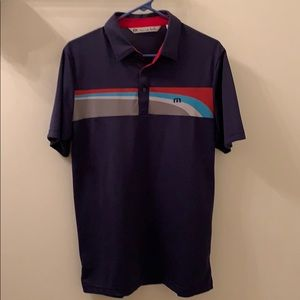 Travis Mathew Navy Polo